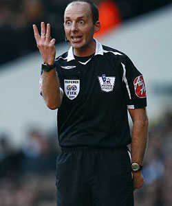Referee's Report – Mike Dean – Wigan Athletic v Blackburn Rovers