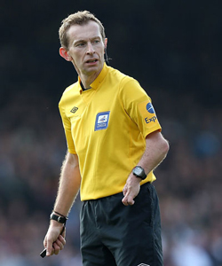 Referee Keith Hill