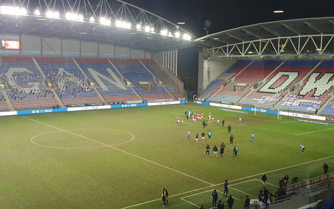 Wigan Athletic 0 – 1 Charlton 2nd March 2021