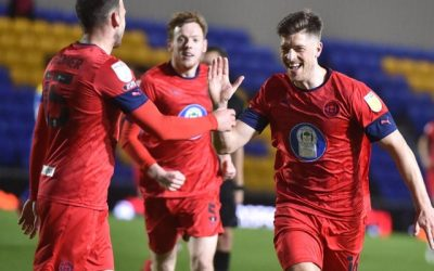 AFC Wimbledon 1 – 1 Wigan Athletic CL Match Report 16-03-21